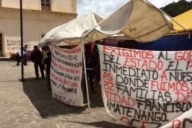 Mexiko-SanCristobal-Zapatisten-Transparent