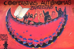 Mexiko-SanCristobal-Zapatisten-Cafe