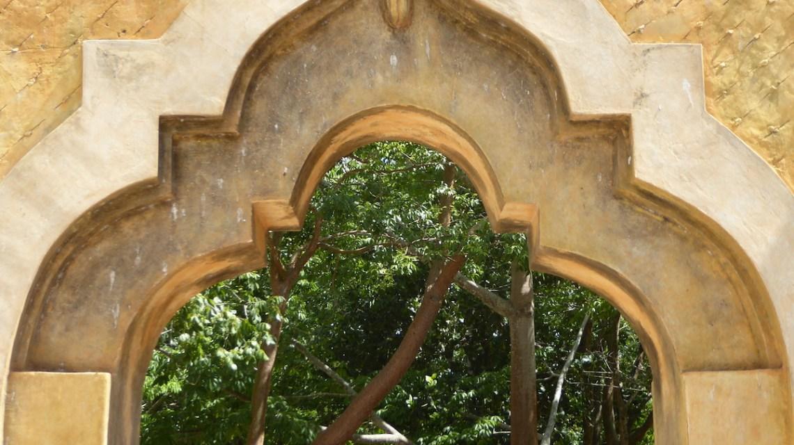 Mexiko Merida Hacienda Ochil Torbogen   aufmerksam reisen