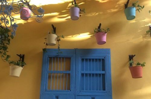 Mexiko Merida blaue Tuer | aufmerksam reisen