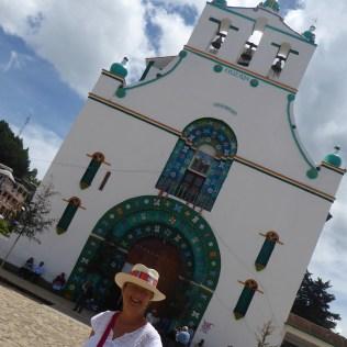 Die Kirche in Chamula in der Nähe von San Cristobal de las Casas.