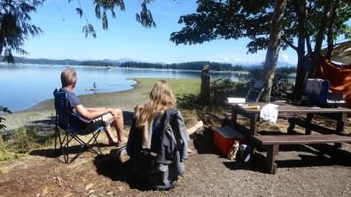 Kanada-QuadraIsland-Campingblick