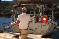 19 Monate auf Weltreise: Skipper und Yacht