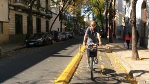 Fahrradfahren in Buenos Aires