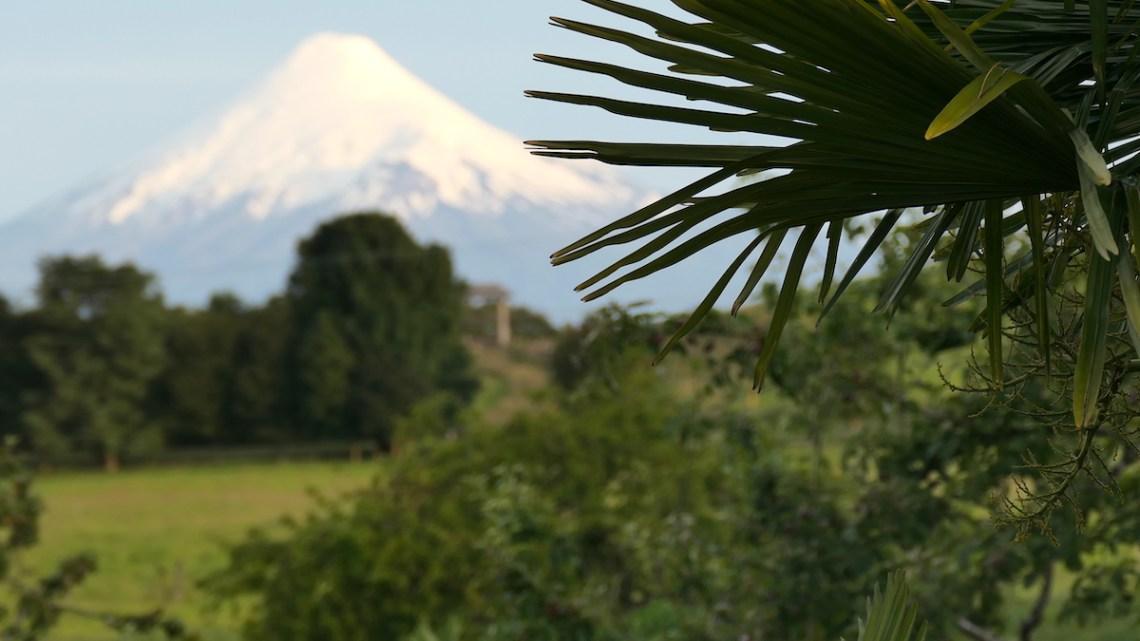 Blick auf den Vulkan Osorno in Chile