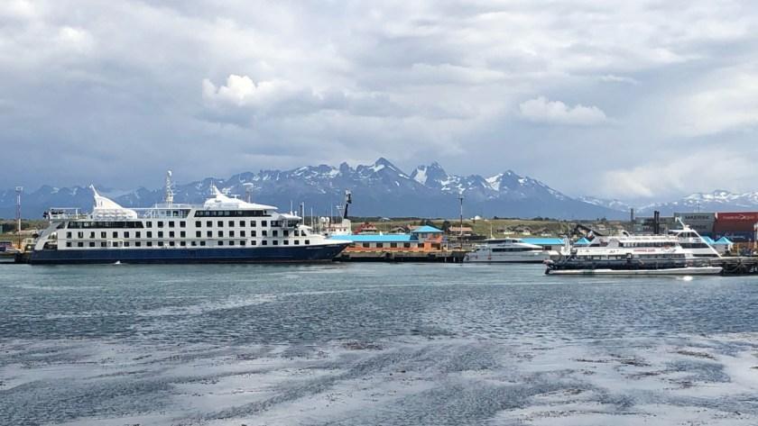 Ankunft in Ushuaia, der südlichsten Stadt der Welt