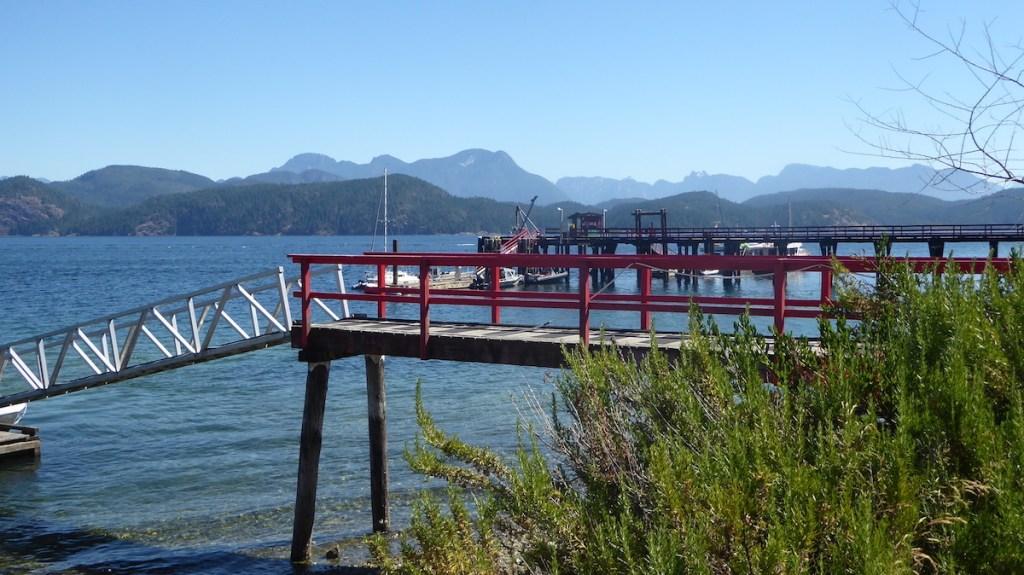 Steg auf Vancouver Island in Kanada