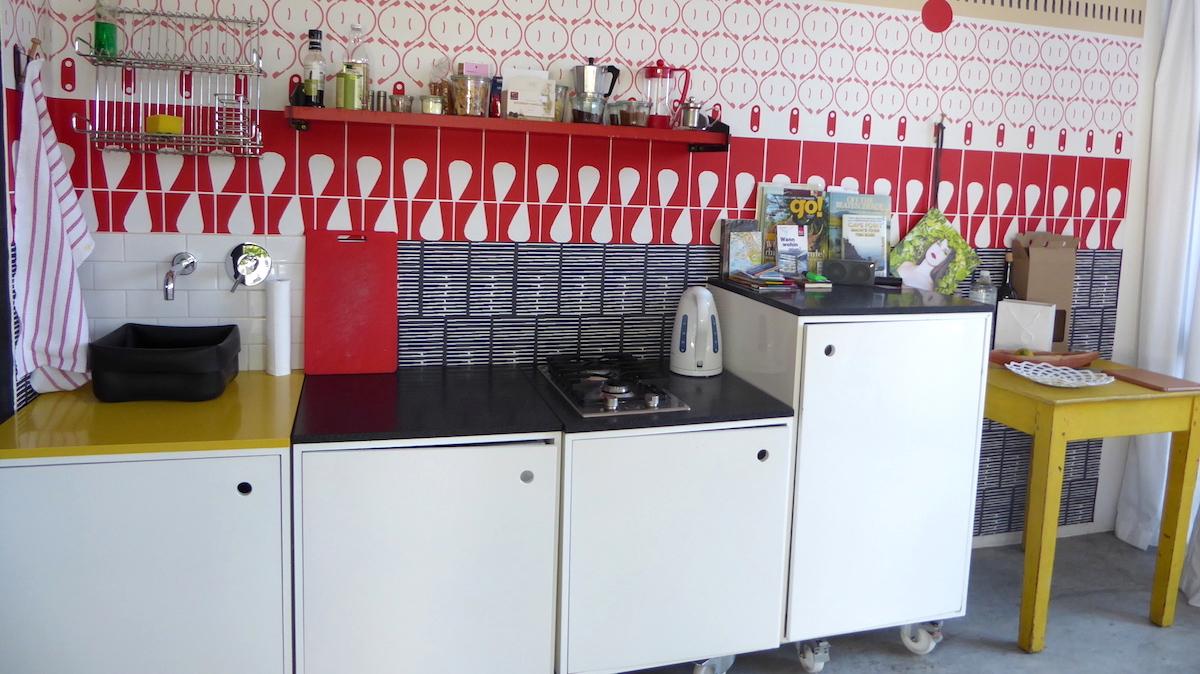 Blick in ein Studio von InAweStays in Kapstadt in Südafrika