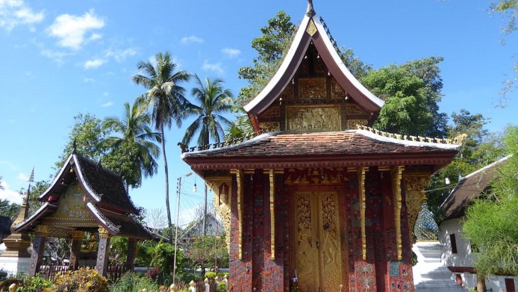 Tempel in Luang Prabang in Laos
