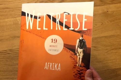 Weltreise-Magazin, Titelseite