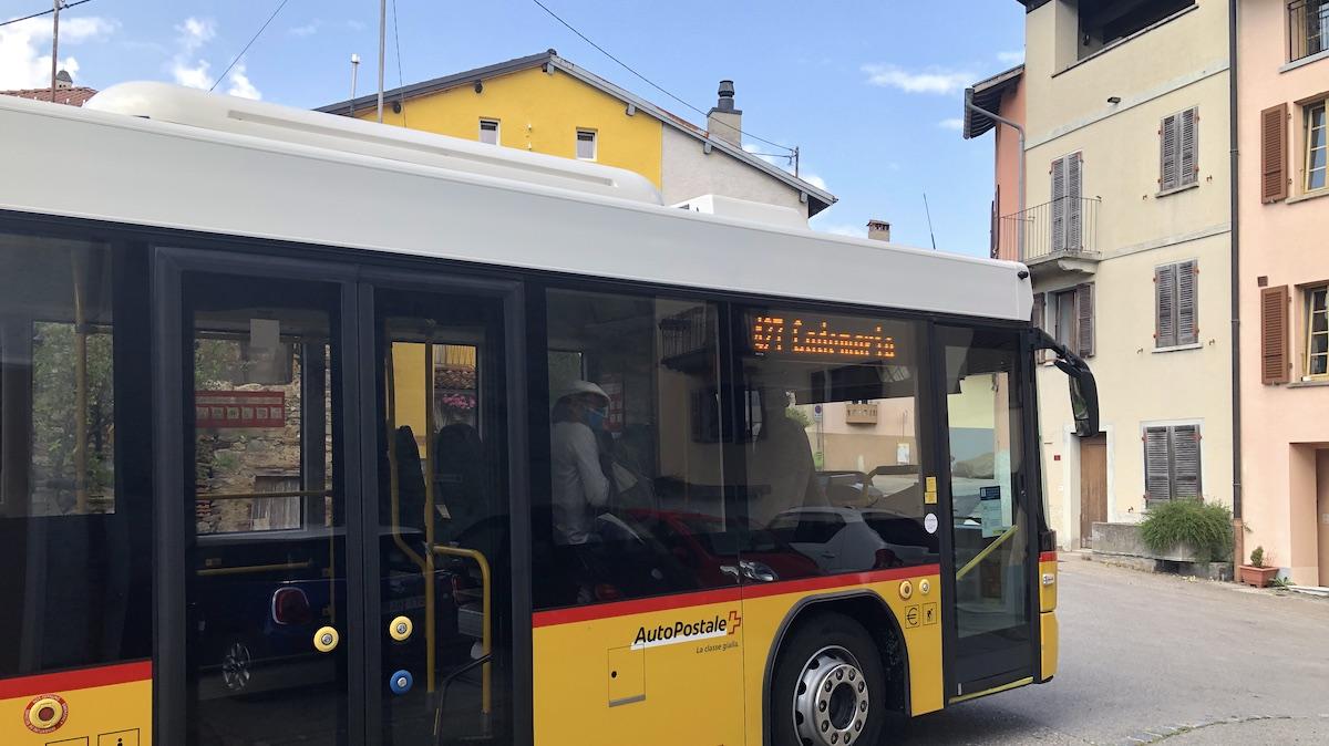 Schweizer Postbus