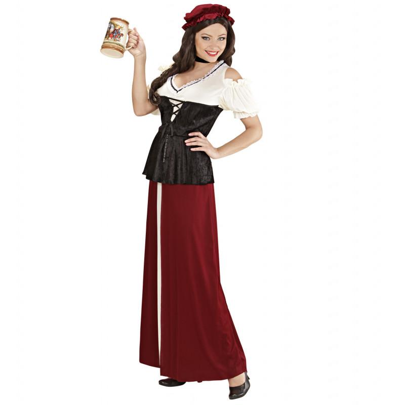 costume taverniere paysanne moyen age