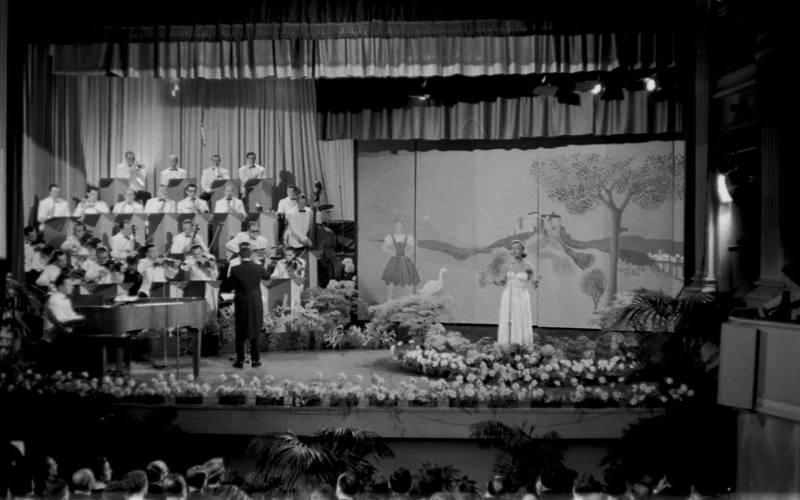 ESC-Finale 1956: Da hilft auch kein Flattiern