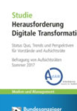 Cover Studie Herausforderung Digital Transformation