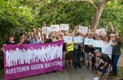 Solifoto für Carola Rackete #FreeCarolaRakete #OpenThePorts