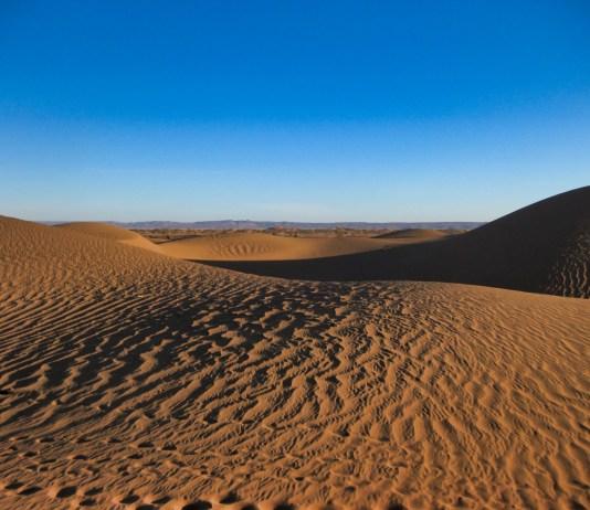 Sanddünen Sahara Marokko