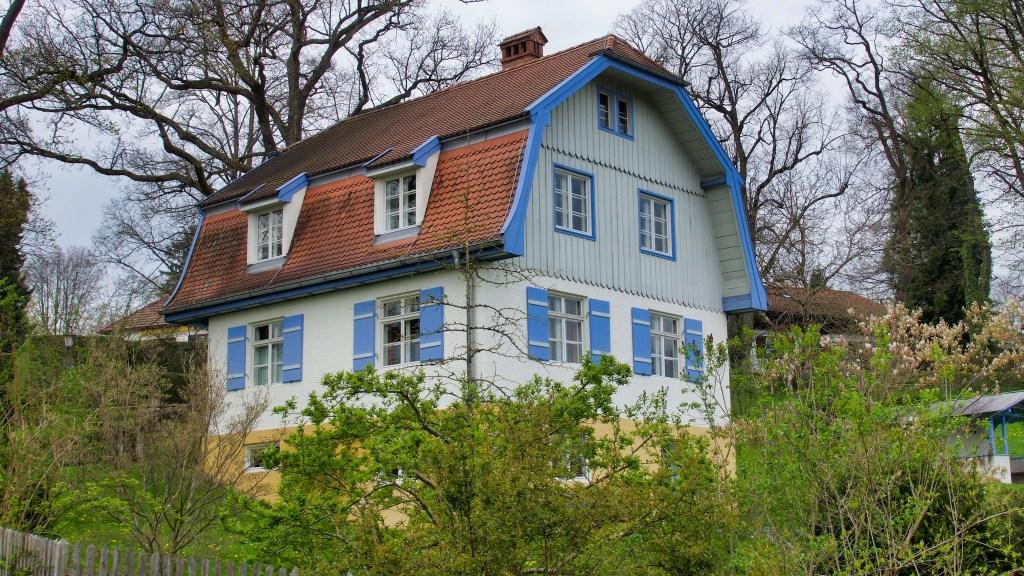 Das Münterhaus, in dem Münter und Kandinsky lebten.