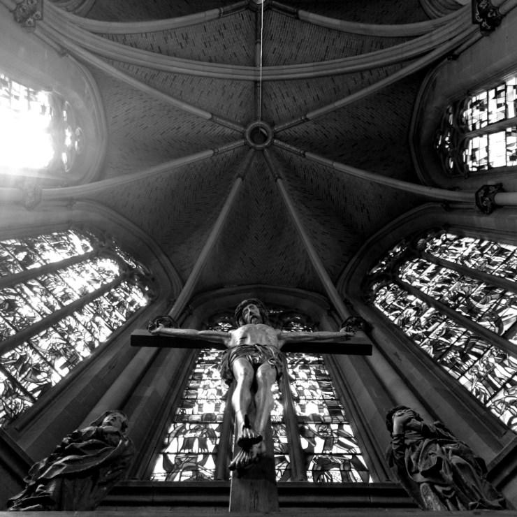 St Maria Kirche Jesus - Ausstellung