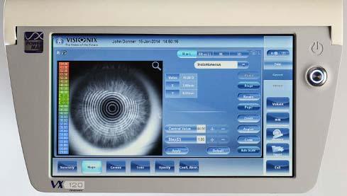 Visionix VX120, Augenoptik, Hillebrand, Recke, Augenheilkunde, Medizin, Gutes Sehen