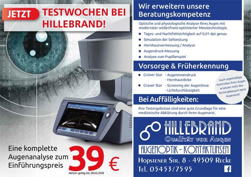 Augenoptik Hillebrand, Recke, Inhaber, Geschäftsführer, Florian Hillebrand, Brillen, Kontaktlinsen, Augenoptik, Mode