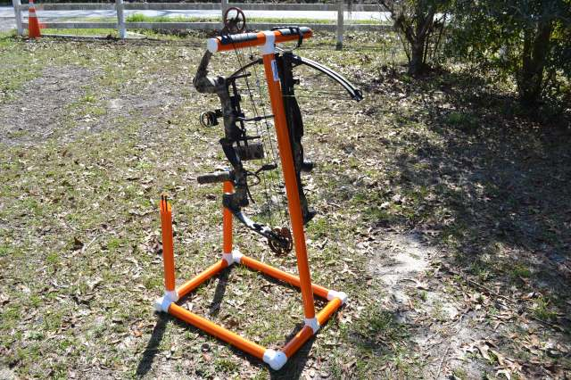 Orange Bow Stand AHP Outdoors