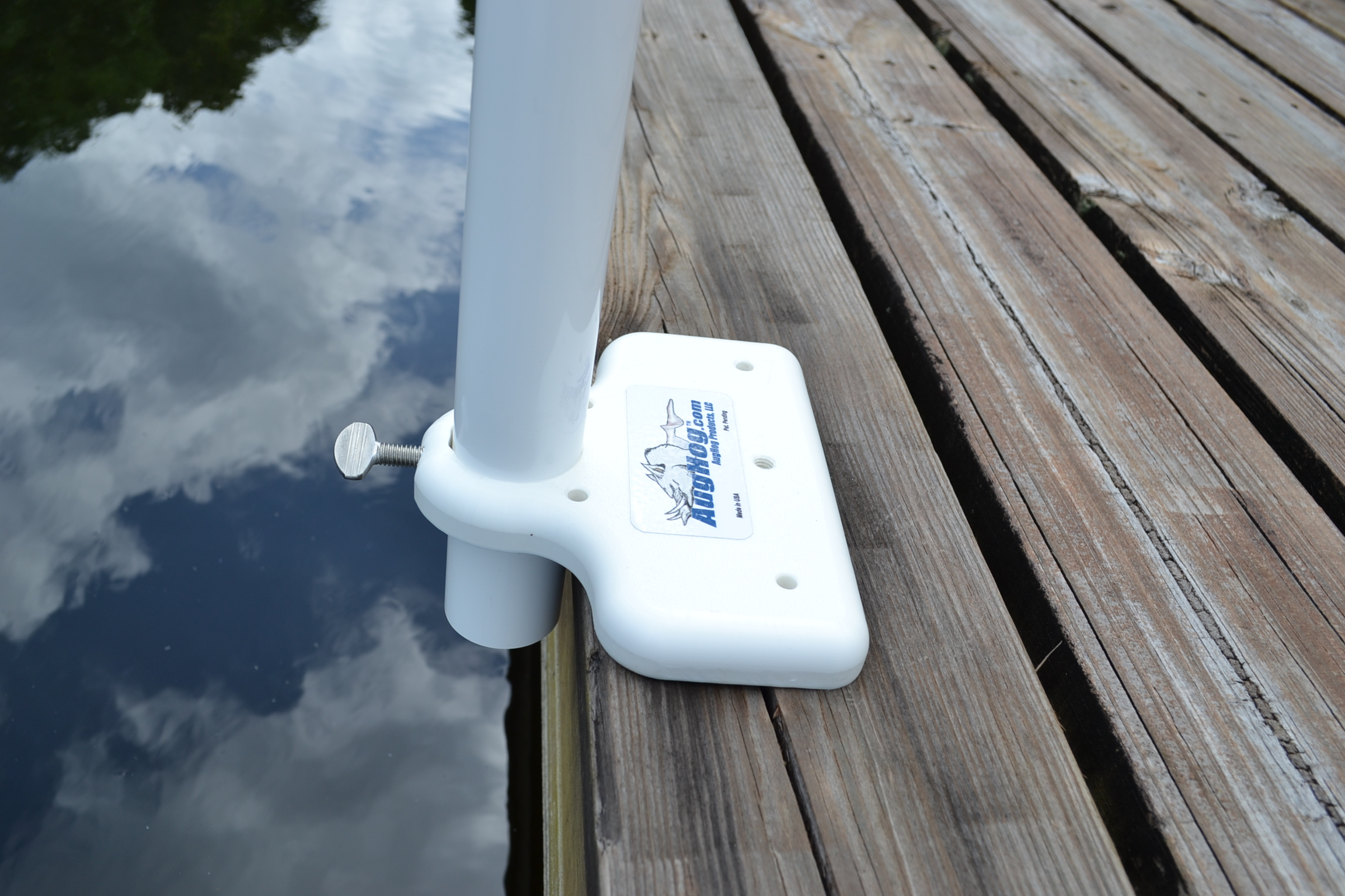 Dock Pal Flip in Dock Fishing Rod Holder  AugHog Products
