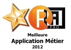 La meilleure application métier 2012