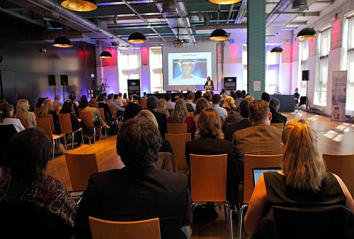 Europe's inaugural Augmented Reality Marketing Conference that took place in Dublin's Guinness Storehouse.