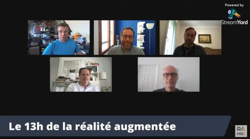 Le 13h de la réalité augmentée du 8 juin 2021 – Un metaverse, de l'AR cloud et des NFT