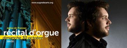 Thomas Pellerin – récital d'orgue
