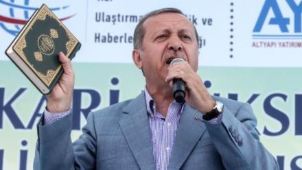 """Erdogan ruft die Menge auf: """"Lasst uns gehen und Europa zerstören!"""""""