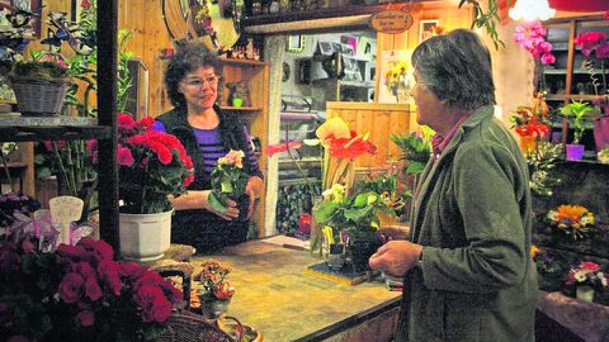 Der kraftspendende Blumenladen  Lokales Augsburg