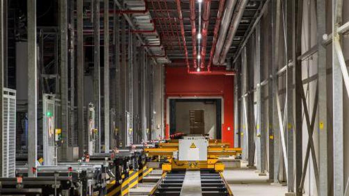 Neues Logistikzentrum An Der A96: In Kammlach Läuft Der Probebetrieb