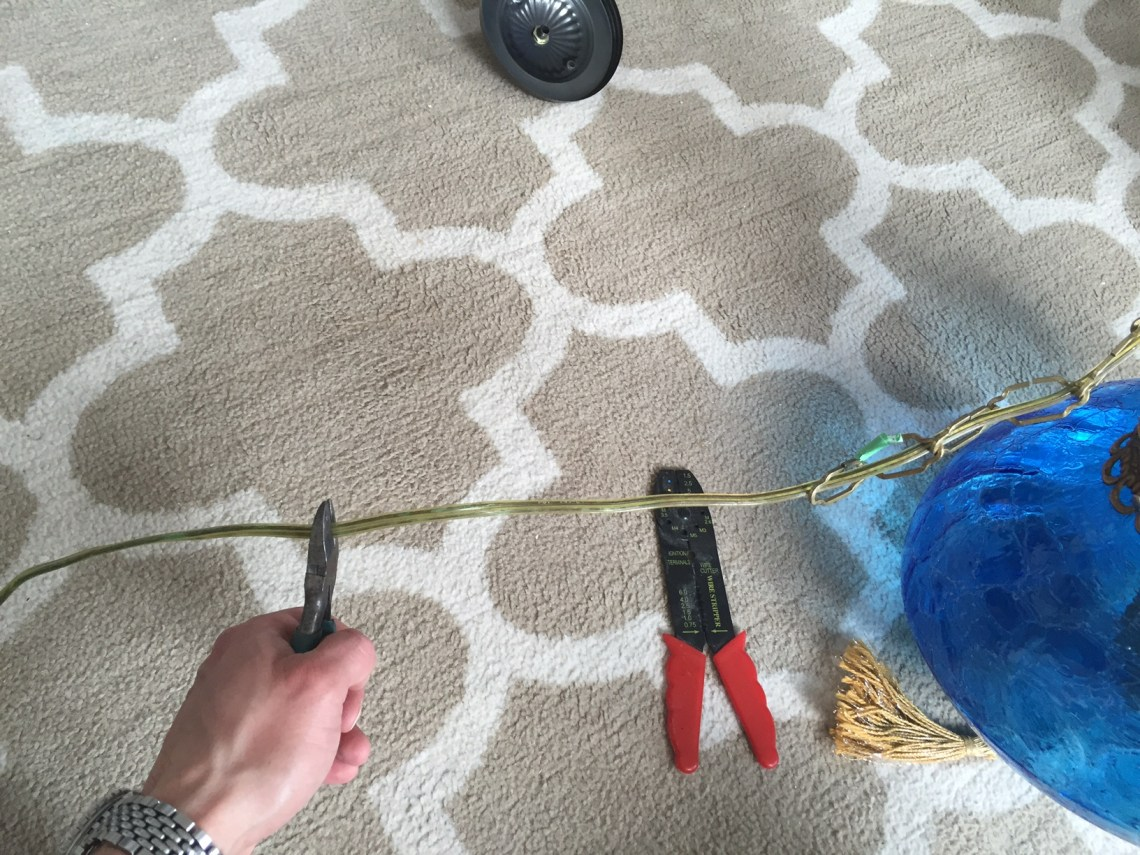 Upcycling an old light
