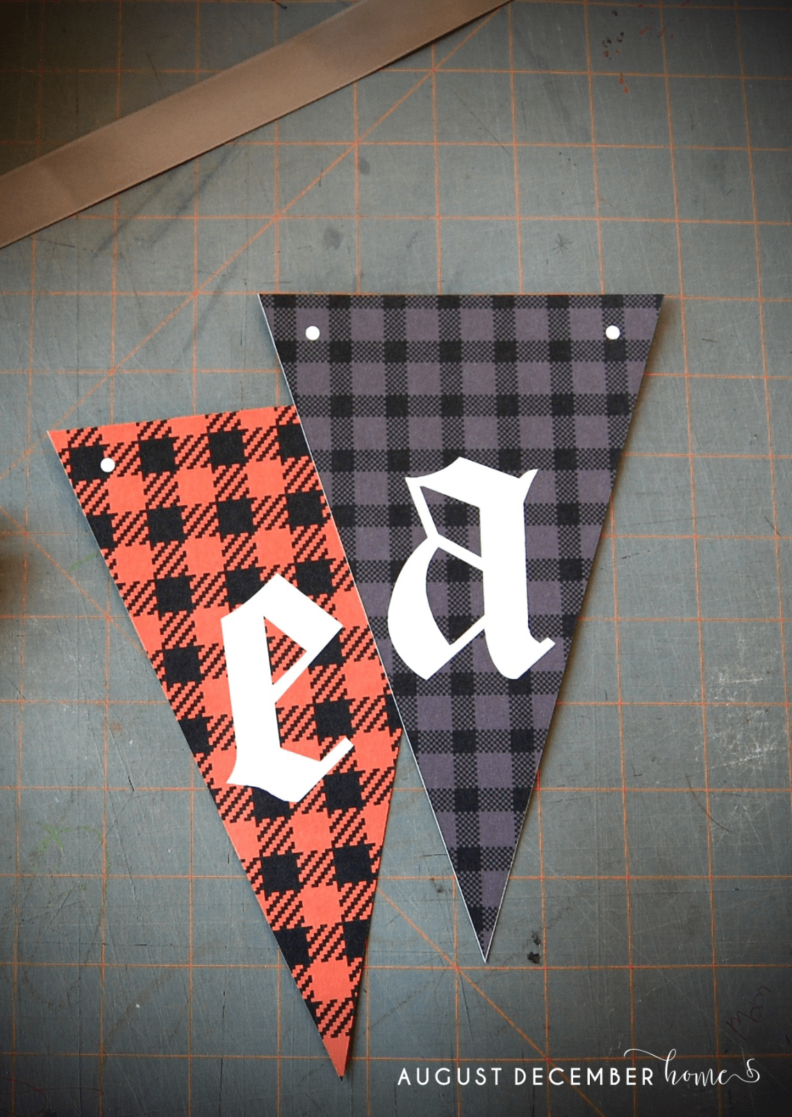 DIY Halloween Banners to print at home