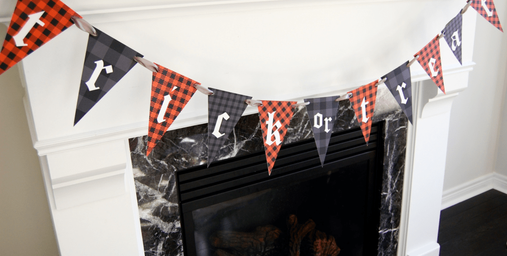 Printable Halloween Banner
