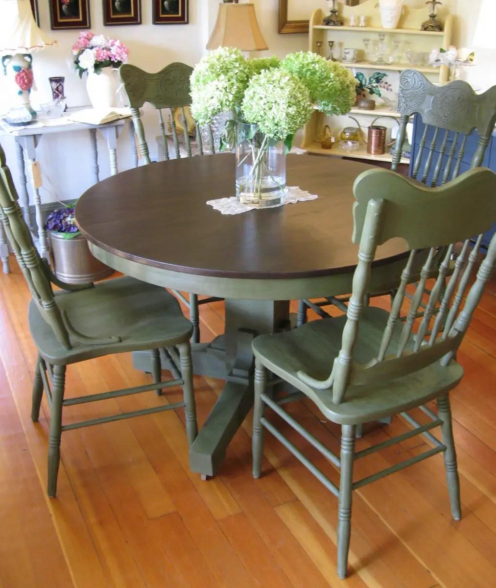 Dixie Bell Green Chair