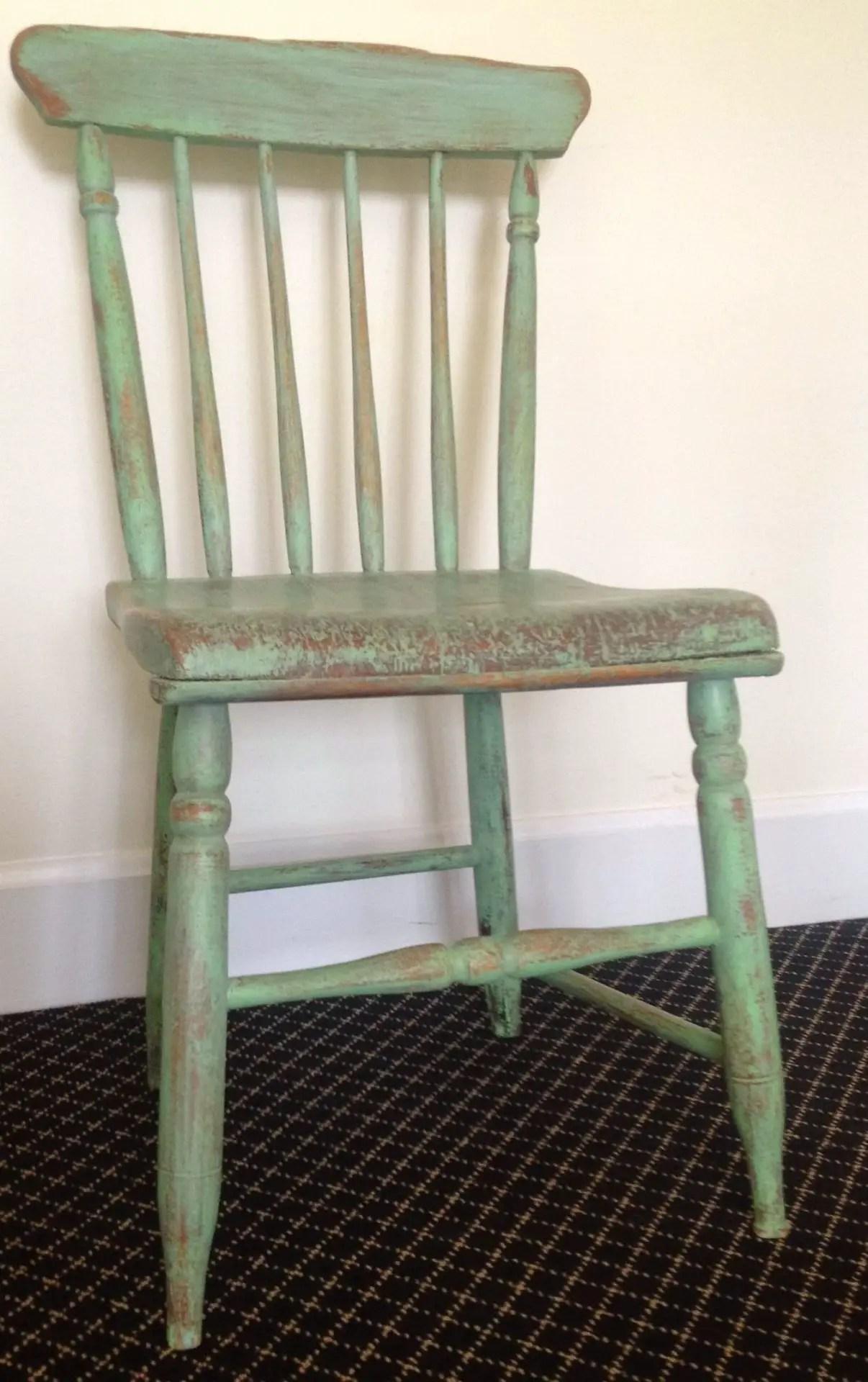 Green Antique Chair