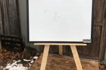 Wood Pallet Easel