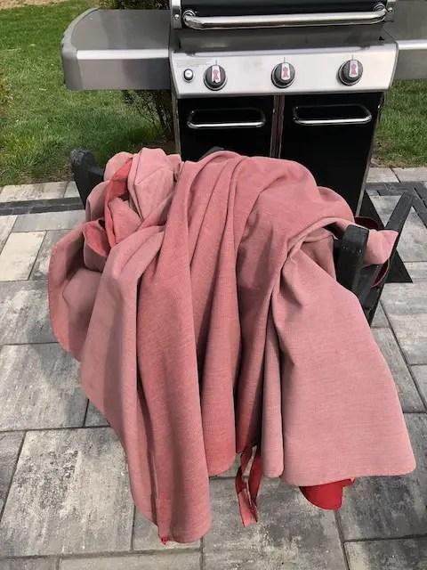 removable patio umbrella fabric