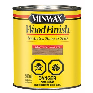Minwax Weathered Oak 270 Stain wood finish