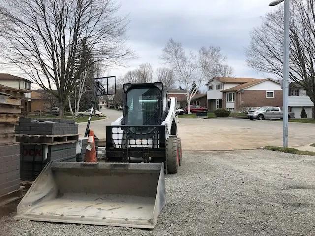 preparing a driveway for new asphalt driveway resurfacing