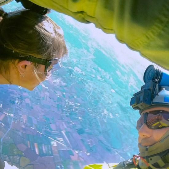 Tandem Skydiving in Empuriabrava