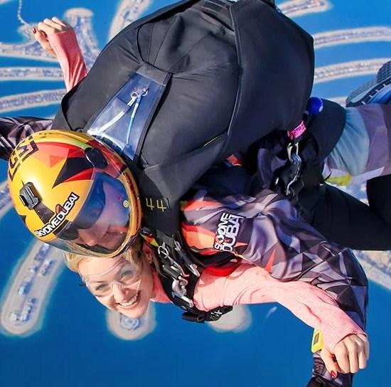 tandem, skydiving, dubai, palm, uae, abu dhabi