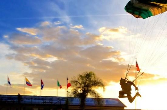 skydive deland landing area
