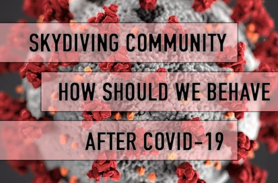 Coronavirus, Skydiving Center and Skydivers. What to do?
