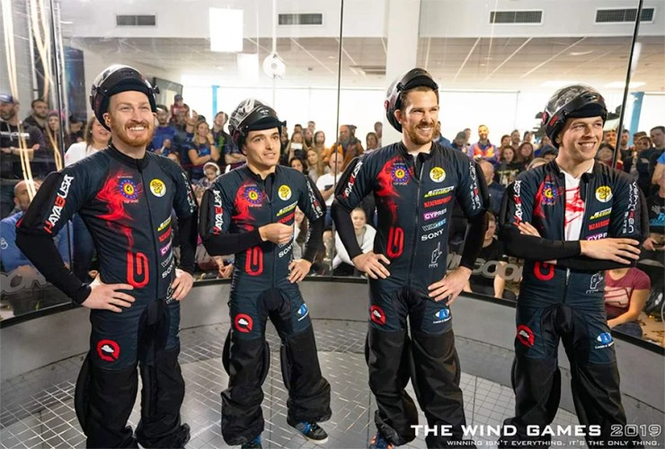 Hayabusa is sponsored by Vertigen and the current skydiving world champions
