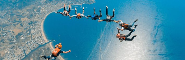 Skydiving in Empuriabrava