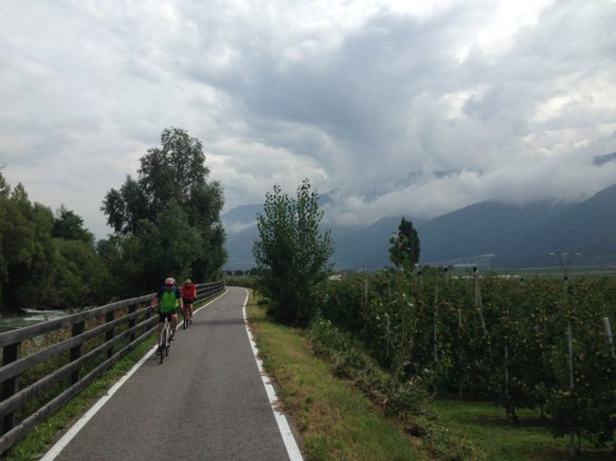 Etappe 1 AUGUSTOUR 2014: Vinschgau