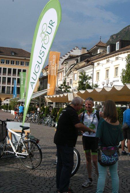 2. Etappe Augustour 2014: Waltherplatz